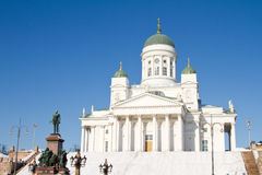 Cathedral of Helsinki Royalty Free Stock Images