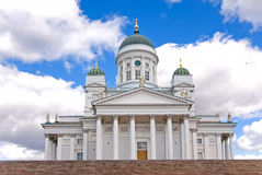 Cathedral in Helsinki. Royalty Free Stock Image