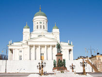 Cathedral of Helsinki Royalty Free Stock Photo