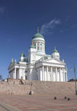 Cathedral in Helsinki. Royalty Free Stock Photography