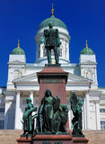 Cathedral of Helsinki, Finland Stock Photo
