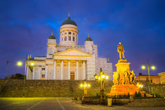 Cathedral in Helsinki, Finland Royalty Free Stock Images