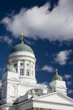 Cathedral in Helsinki. Cathedral on Senate Square in Helsinki royalty free stock image