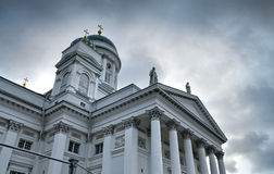 Cathedral in Helsnki, Finland. Main city cathedral of Helsnki, capital of Finland Stock Photography