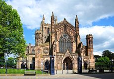 Cathedral, Hereford. Royalty Free Stock Image