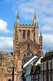 Cathedral, Hereford. Stock Images