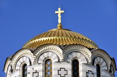 Cathedral in Hersones, Crimea Royalty Free Stock Photography