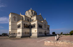Cathedral in Hersones, Crimea Stock Photography