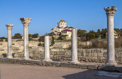 Cathedral in Hersones, Crimea Stock Photos