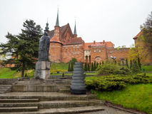 Cathedral Hill in Frombork royalty free stock photography