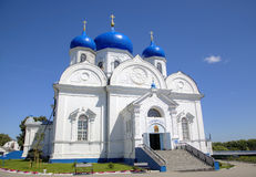 Cathedral of Holy Bogolyubovo Monastery. Royalty Free Stock Images