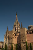 Cathedral of Holy Cross in Barcelona Royalty Free Stock Photos