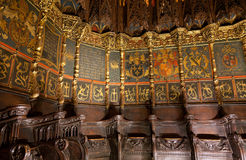 Cathedral of the Holy Cross and Saint Eulalia Royalty Free Stock Image