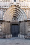 Cathedral of the Holy Cross and Saint Eulalia, Barcelona royalty free stock photography