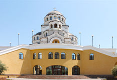 Cathedral of Holy Face of Christ the Savior. Near the Olympic Park in Sochi Royalty Free Stock Photo