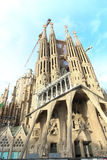 Cathedral of the Holy Family - Barcelona Stock Images
