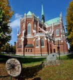 The Cathedral  Holy Family in Cz�stochowa Royalty Free Stock Photo