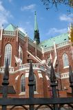 The Cathedral  Holy Family in Cz�stochowa Stock Photo