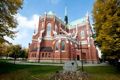 The Cathedral  Holy Family in Cz�stochowa Royalty Free Stock Image