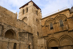Cathedral of the Holy Sepulchre, Jerusalem, Israel Stock Images