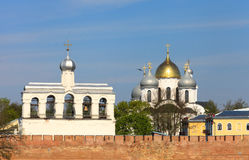 Cathedral of holy Sofia and belfry Royalty Free Stock Image