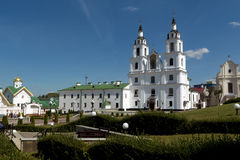 Cathedral of Holy Spirit in Minsk. Stock Image