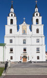 The cathedral of Holy Spirit in Minsk Stock Photos