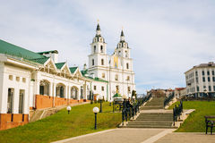 The cathedral of Holy Spirit in Minsk, Belarus Stock Photos