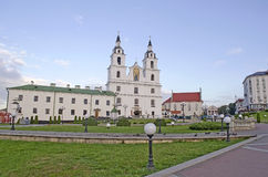 Cathedral of Holy Spirit in Minsk Royalty Free Stock Image