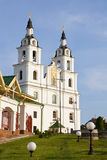 Cathedral of Holy Spirit in Minsk, Belarus Stock Photography