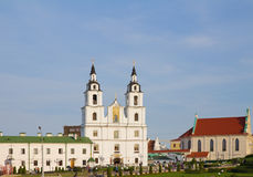 Cathedral of Holy Spirit in Minsk, Belarus Stock Images