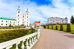 The cathedral of Holy Spirit in Minsk, Belarus Royalty Free Stock Photography