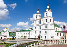 Cathedral of Holy Spirit in Minsk, Belarus. Royalty Free Stock Photography