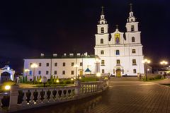 The Cathedral Of Holy Spirit In Minsk, Belarus Stock Photo