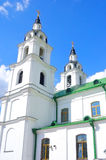 Cathedral of Holy Spirit in Minsk. Royalty Free Stock Photo
