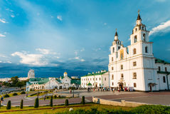 Cathedral Of Holy Spirit In Minsk - Main Orthodox Church Of Bela Royalty Free Stock Images