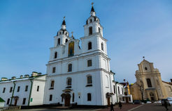 Cathedral of Holy Spirit in Minsk Stock Photography
