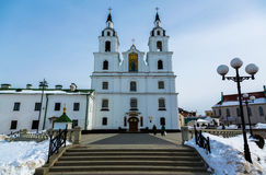 Cathedral of Holy Spirit in Minsk Royalty Free Stock Photos