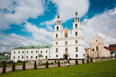 The Cathedral Of Holy Spirit In Minsk - The Main Stock Photo