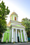 Cathedral of Holy Trinity, Odessa, Ukraine. Wooden church rebuilt as  the stone temple in 1804. Stock Image