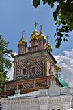 The Cathedral of the Holy Trinity St. Sergius Lavra. The Shrine of all Christians. Stock Photos