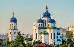 Cathedral of the Holy Trinity in Troieshchyna - Kiev, Ukraine Royalty Free Stock Image