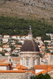 Cathedral of the holy virgin mary in Dubrovnik stock photos