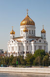 Cathedral In Honor Of Christ The Savior In Moscow Stock Images