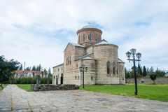 The Cathedral in honor of St. Andrew the Apostle, in Pitsunda, A Stock Photo
