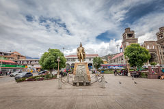 Cathedral in Huaraz, Peru, South America Royalty Free Stock Photos