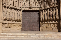 Cathedral of Huesca Royalty Free Stock Photography