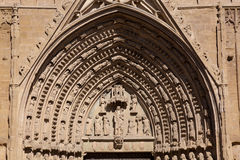 Cathedral of Huesca Royalty Free Stock Photo