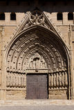 Cathedral of Huesca Stock Image