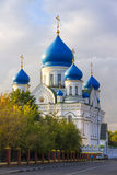 Cathedral of the Iberian Icon of the Mother of God  in Moscow Royalty Free Stock Photos